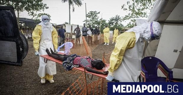 Разпространението на вируса ебола в град Мбандака в Демократична република
