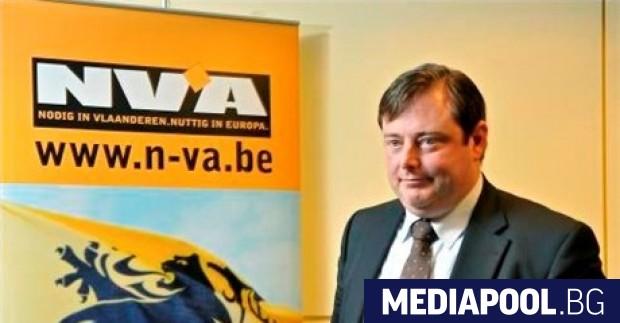 Барт де Вевер Председателят на най-голямата белгийска партия Нов фламандски