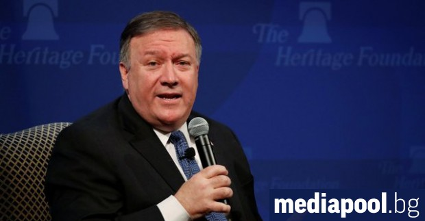 Държавният секретар на САЩ Майк Помпейо заплаши, че САЩ ще