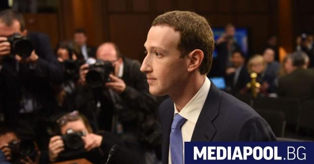Марк Зукърбърг Изслушването на изпълнителния директор на Фейсбук Марк Зукърбърг