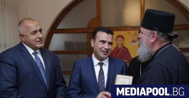Борисов и Заев вече посетиха заедно македонския манастир