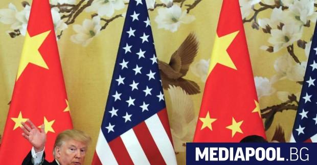 Доналд Тръмп и китайският президент Си Дзинпин Първо дойде новината,