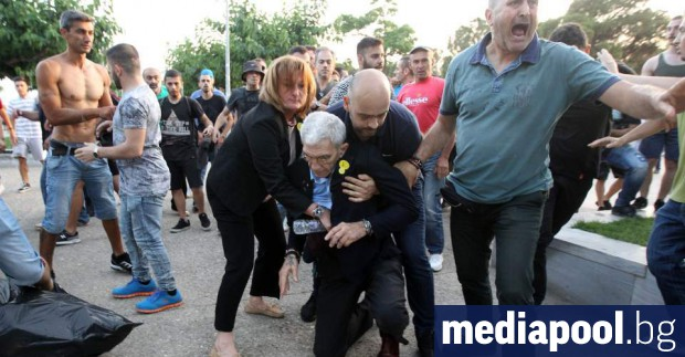 Сн. Катимерини Кметът на Солун Янис Бутарис беше пребит на