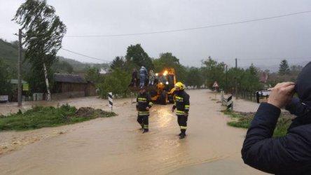 Сърбия е под вода след поройни дъждове