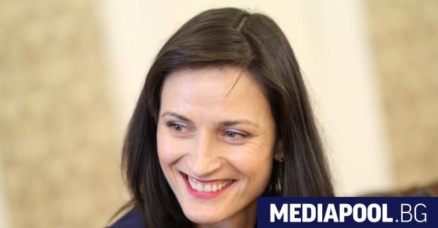 Мария Габриел, сн. БГНЕС Българският комисар по цифровата икономика и