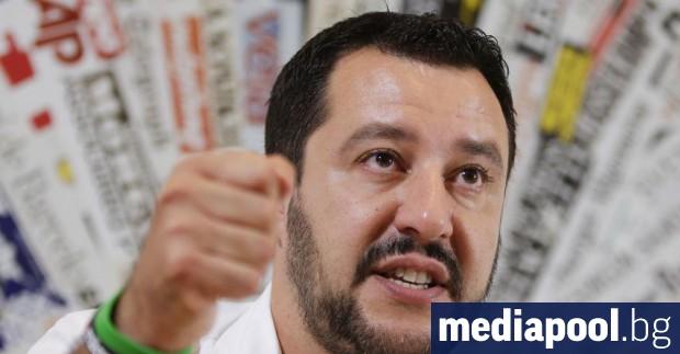 Матео Салвини Италия предупреди, че няма да подкрепи плана на