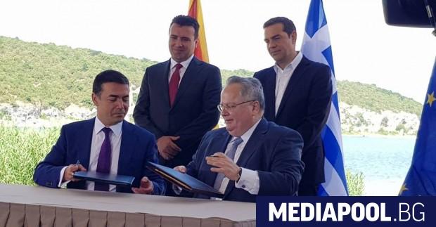 Гърция и Македония официално сложиха край на 27-годишния спор за