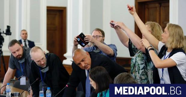 Борисов обяснява на руските журналисти за газовия хъб Премиерът Бойко