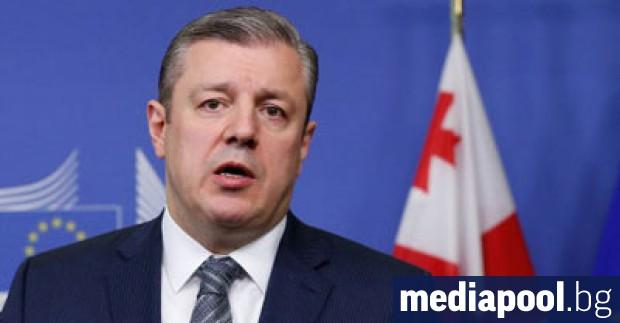 Гиорги Квирикашвили Грузинският министър-председател Гиорги Квирикашвили подаде снощи оставка заради
