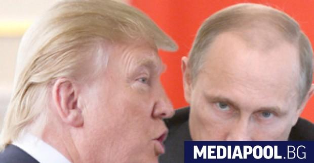 Президентът Доналд Тръмп и руският президент Владимир Путин потвърдиха вчера