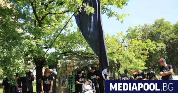 Сн. БГНЕС Протестиращите майки на деца с увреждания, които от