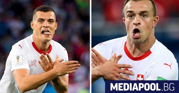 Снимка: ФИФА разследва швейцарски футболисти за косоварски жестовете