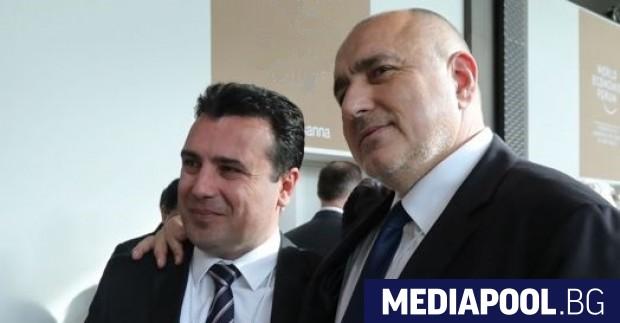 Бойко Борисов подкрепя твърдо усилията на македонския си колега Зоран