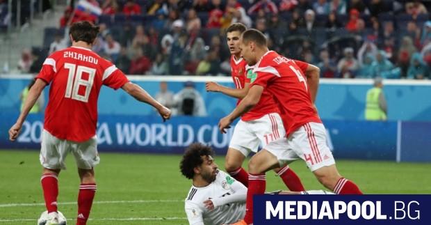 Снимка: Русия победи Египет и почти сигурно излиза от групата