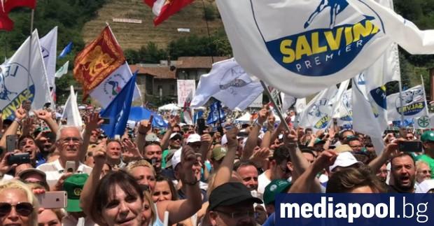 Снимка: Новият политически ред в Италия - зелена брада и моцарела