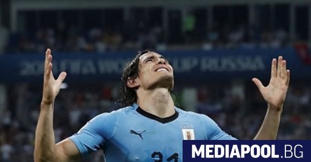 Снимка: Звездата на Уругвай Едисон Кавани няма да се възстанови за мача с Франция