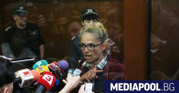 Снимка: БГНЕС Апелативният спецсъд остави в четвъртък в ареста отстранената