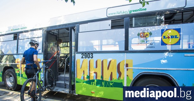 Велолинията до Витоша Един пътническа и два велоавтобуса започват от