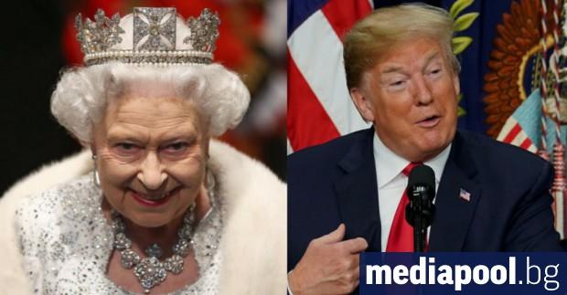 Когато следващата седмица Доналд Тръмп се срещне с кралица Елизабет