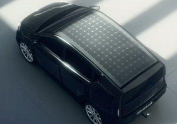 Германия тества слънчев автомобил