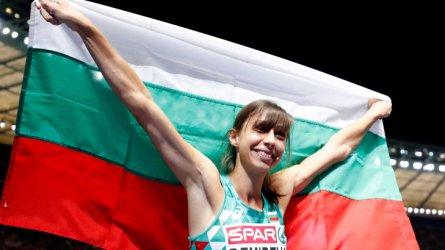 Мирела Демирева спечели сребърен медал на европейското в Берлин