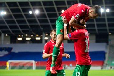 България победи Словения с 2:1 като гост в Лигата на нациите