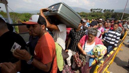 Мигрантите от Венецуела се страхуват повече от кризата, отколкото от ксенофобията