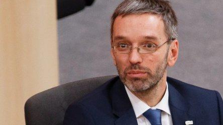 Австрийският вътрешен министър ограничава контактите на полицията с медиите