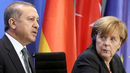 Ердоган няма да говори пред сънародници по време на посещението си в Германия