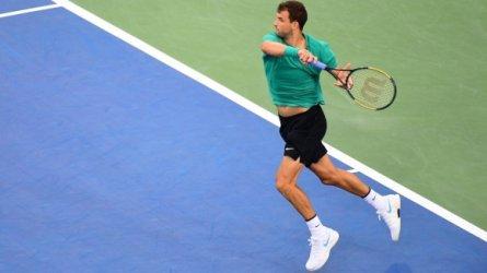 Григор Димитров премина бързо във втория кръг на турнира в Пекин