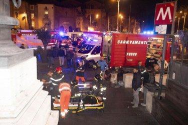 Руски футболни фенове бяха ранени при авария на ескалатор в Рим