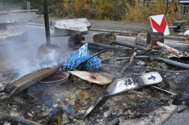 Безредиците в Белгия покрай протестите за цените на горивата се задълбочават