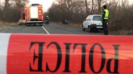 Жена загина, а седем са ранени в тежка катастрофа край Саранци