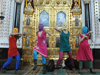 """ЕСПЧ осъди Русия да плати обезщетения на три изпълнителки от """"Пуси райът"""""""