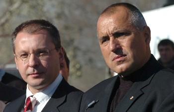 Борисов поздрави Станишев за преизбирането му като лидер на ПЕС