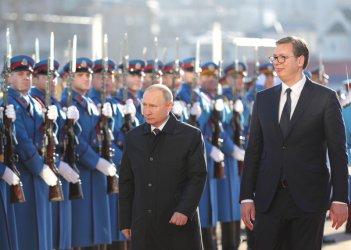 Путин обеща на Вучич военна помощ и газ, но не донесе решение за Косово