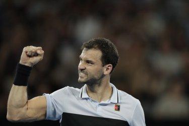Григор Димитров отстрани италианеца Фабиано и е на осминафиналите в Австралия