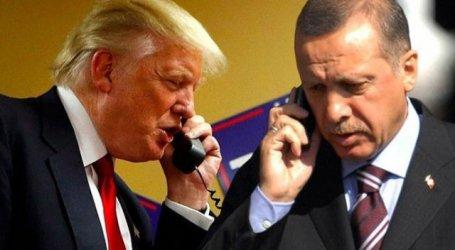 """Тръмп вижда """"голям потенциал"""" за икономическото развитие между САЩ и Турция"""