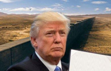 Тръмп обяви извънредно положение, за да построи стената с Мексико