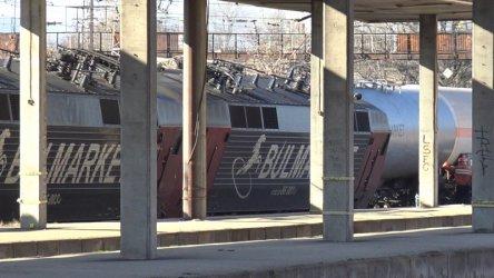 НКЖИ отрича счупена стрелка да е причинила дерайлирането на товарния влак в Пловдив