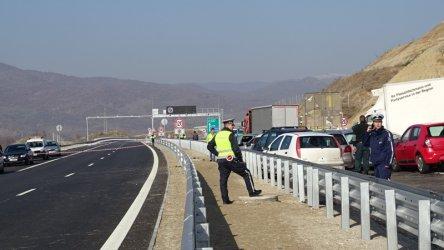 """""""Интелигентната"""" трафик система на магистрала """"Струма"""" още я няма"""