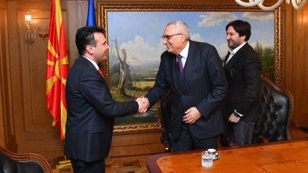 Иван Костов посъветва Зоран Заев за влизането на Македония в ЕС
