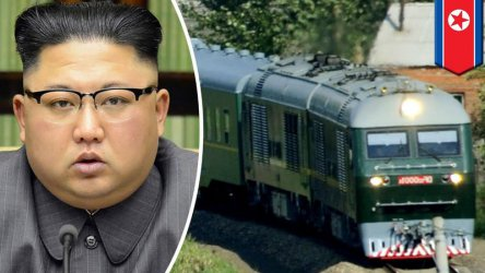 Недостъпният брониран влак на Ким Чен-ун – хит в китайския ...