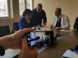 """""""Пирогов"""" получи дарение от саксонска принцеса с български произход"""