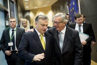 Европейската десница е отслабена от атаките на популиста Орбан срещу Юнкер