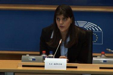 Окончателно: ЕП подкрепя Лаура Кьовеши за главен прокурор на ЕС