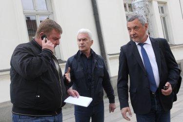 Симеонов иска да е сам на евроизборите, Сидеров вече не иска Бареков
