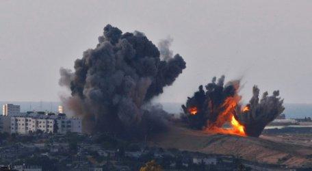 Израел е ударил 100 мишени на Хамас в отговор на ракетна атака срещу Тел Авив