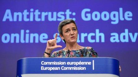 """Поредна солена глоба от 1.49 млрд. евро за """"Гугъл"""""""