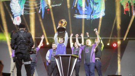 Български отбор спечели Световното първенство по компютърни игри в Китай